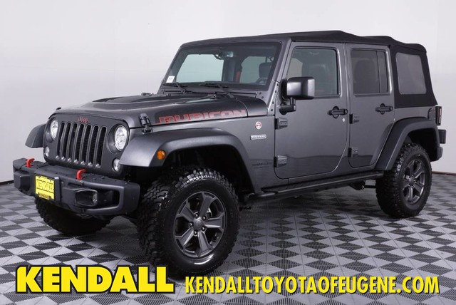 Pre-Owned 2017 Jeep Wrangler Unlimited Rubicon Recon