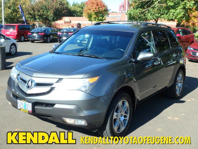 PreOwned Acura MDX TechEntertainment Pkg SUV In Eugene - Acura mdx pre owned