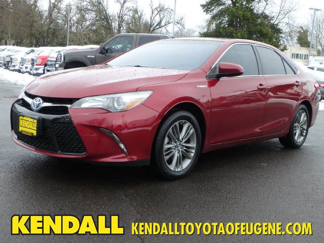 Certified Pre-Owned 2015 Toyota Camry Hybrid STD