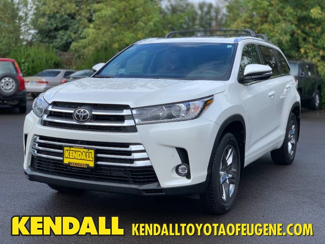 Toyota Highlander Limited >> New 2019 Toyota Highlander Limited Platinum With Navigation Awd