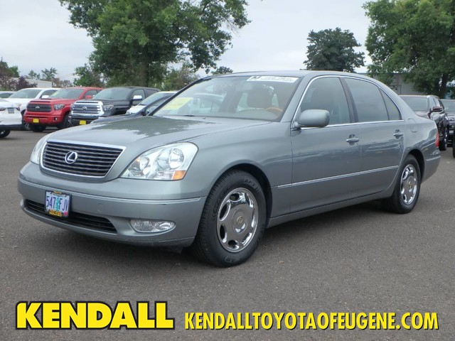 Pre Owned Lexus >> Pre Owned 2001 Lexus Ls 430 Rear Wheel Drive Sedan