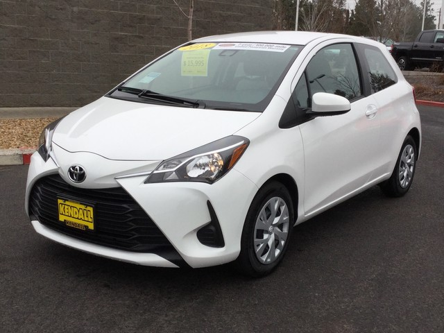 Certified Pre-Owned 2018 Toyota Yaris STD