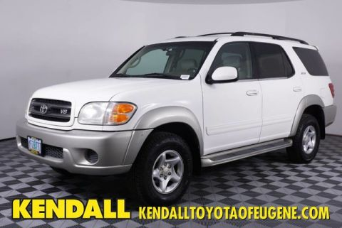 Pre-Owned 2001 Toyota Sequoia SR5